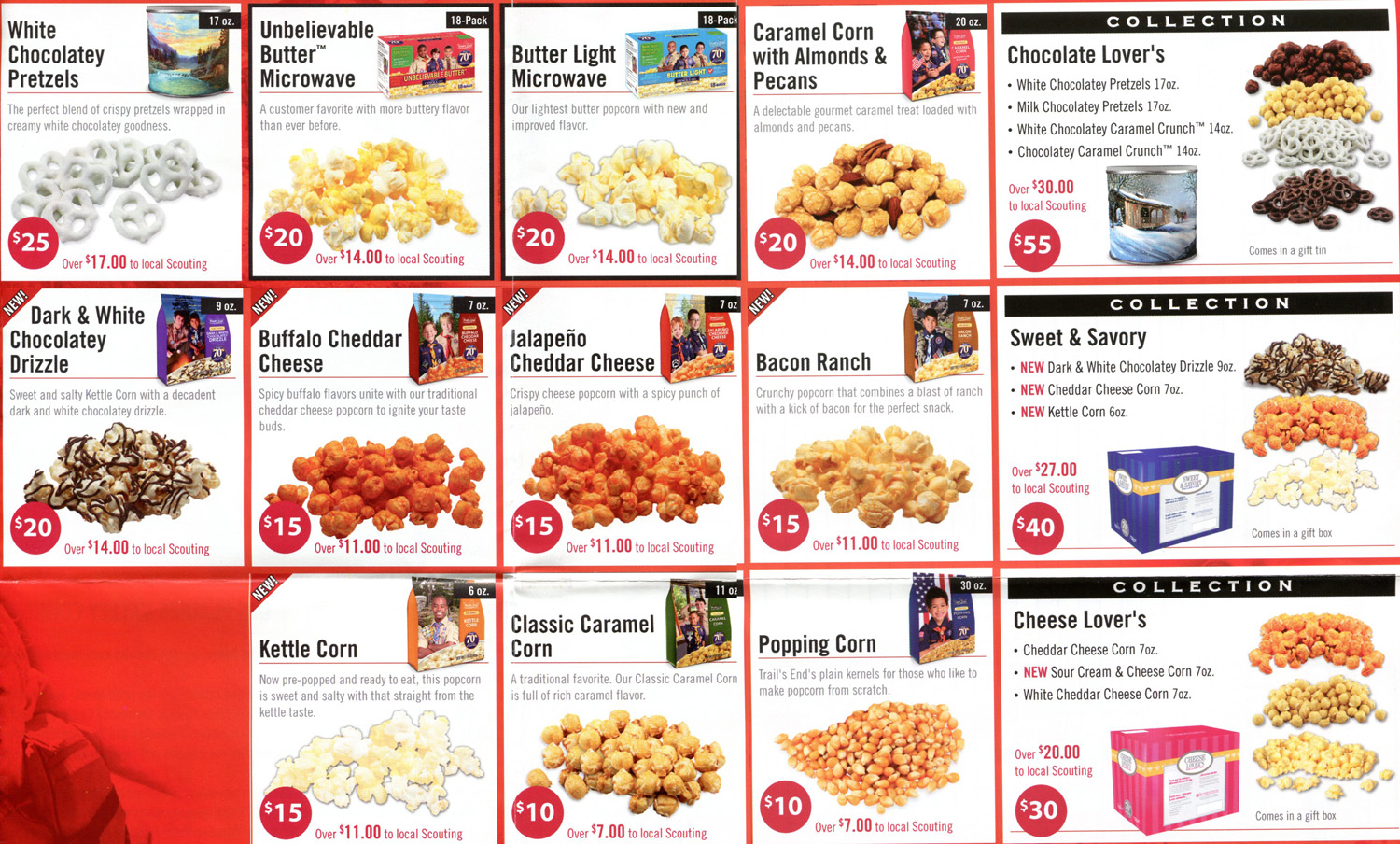 Selling Popcorn | Scouts: Pack 67